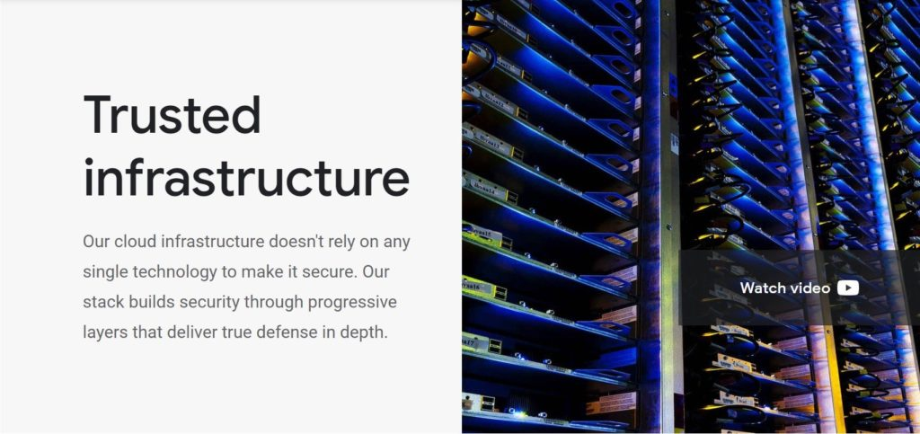 Google Cloud Platform security